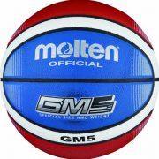 Molten-BGMX5-C-Ballon-de-basket-Rougeblancbleu-Taille-5-0