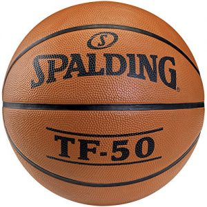 SPALDING-TF50-OUTDOOR-SZ5-73-852Z-Ballons-de-basket-NBA-Touch-et-Contrle-amliors-Matire-Durable-orange-0
