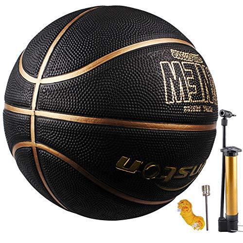 Senston-Ballon-de-Basketball-Mixte-Couleur-Enfant-Surface-Rugueuse-Extrieur-et-intrieur-Taille-7-0
