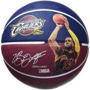 Spalding-Nba-Player-Lebron-James-Ballon-de-basket-Multicolore-0-0