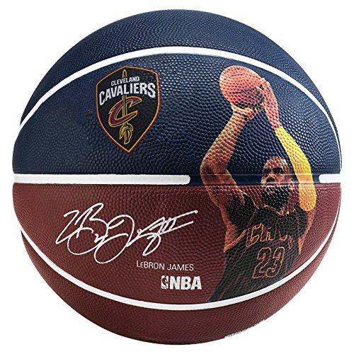 Spalding-Nba-Player-Lebron-James-Ballon-de-basket-Multicolore-0