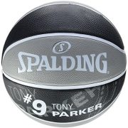 Spalding-Nba-Player-Tony-Parker-Sz7-83-380Z-ballon-de-basket-pour-Homme-couleur-Gris-Noir-taille-7-0-0