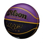 WILSON-MVP-Elite-BSKT-295-PRBL-Ballon-de-Basket-Mens-PurpleBlack-Official-0-0