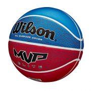 WILSON-MVP-Elite-Ballon-de-Basket-Mens-RedWhiteBlue-Official-0-0