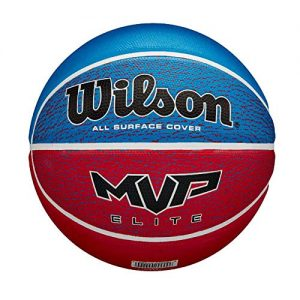 WILSON-MVP-Elite-Ballon-de-Basket-Mens-RedWhiteBlue-Official-0