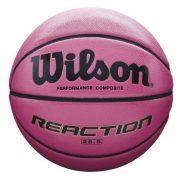 Wilson-Ballon-de-Basketball-tout-terrain-Comptition-Parquets-sportifs-Taille-6-REACTION-Rose-WTB1218XD06-0