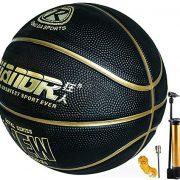Basket-Ball-Taille-7-avec-Pompe-intrieure-extrieure-Junior-Enfants-Enfants-Jeunesse-Jeu-de-Basketball-Rue-Caoutchouc-Basket-Ball-avec-3-Accessoires-0