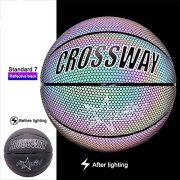 Knowled-Ballon-de-basket-lumineux-rflchissant-en-PU-avec-sac-de-transport-et-pompe-Taille-7-0-0