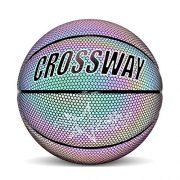 Knowled-Ballon-de-basket-lumineux-rflchissant-en-PU-avec-sac-de-transport-et-pompe-Taille-7-0
