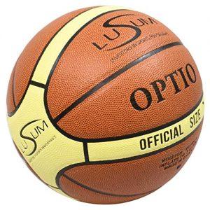 Lusum-Optio-Ballon-de-Basket-Ball-intrieur-extrieur-PU-Cuir-Taille-5-6-et-7-Size-5-0