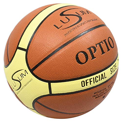 Lusum-Optio-Ballon-de-Basket-Ball-intrieur-extrieur-PU-Cuir-Taille-5-6-et-7-Size-5-0
