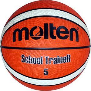 Molten-SchoolTraineR-Balle-Adulte-Unisexe-OrangeIvoire-5-0