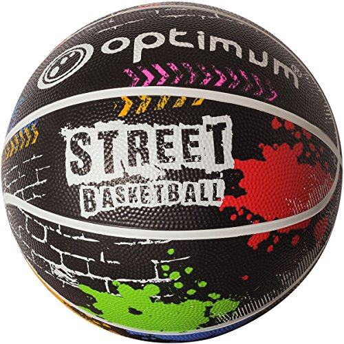 OPTIMUM-Street-Ballon-de-Basketball-Unisex-Adult-Multicolore-Size-7-0