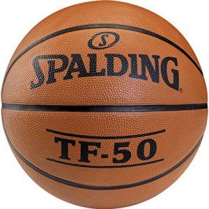 SPALDING-TF50-OUTDOOR-SZ3-65-819Z-Ballons-de-basket-NBA-Touch-et-Contrle-amliors-Matire-Durable-orange-0