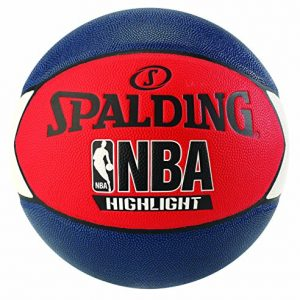 Spalding-NBA-Highlight-Ballon-de-Basket-BleuRougeBlanc-0