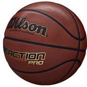 Wilson-Ballon-de-Basketball-Reaction-Pro-Orange-Taille-7-Similicuir-intrieur-et-extrieur-WTB10137XB07-0-0
