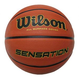 Wilson-Ballon-de-Basketball-Sensation-Orange-Taille-7-Caoutchouc-Intrieur-et-Extrieur-WTB9118XB0701-0
