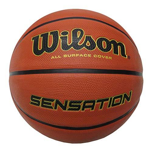 Wilson-Ballon-de-Basketball-Sensation-Orange-Taille-7-Caoutchouc-Intrieur-et-Extrieur-WTB9118XB0701-0