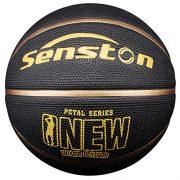 Senston-Ballon-de-Basket-Taille-7-avec-Pompe-Enfants-Jeu-de-Basket-Ball-Jeunesse-Basketball-de-Rue-IntrieurExtrieur-0-1